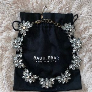 BaubleBar Crystal Flutter Collar Necklace
